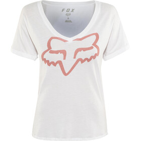 Fox Responded Rl V-Neck SS Shirt Damen white